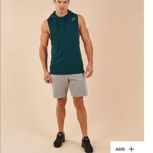 13a0ebfc5e6b9 Gymshark Shirts - GymShark Drop Arm Sleeveless Hoodie